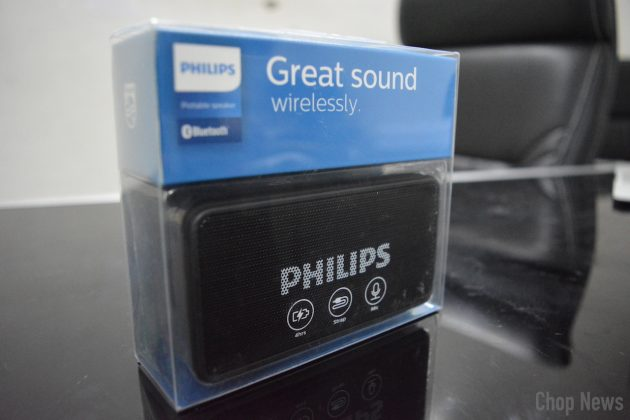 Philips BT64B Portable Bluetooth Speakers Review