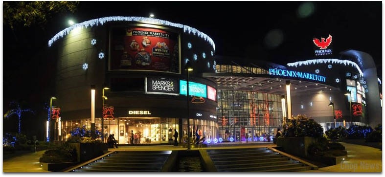 58021cff99a Top 5 Largest Shopping Malls in India. 1. Phoenix market city Chennai.  Phoenix market city Chennai