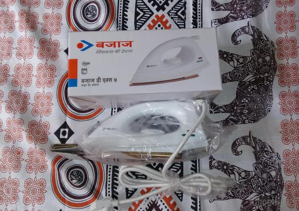 Bajaj DX 7 1000-Watt Dry Iron