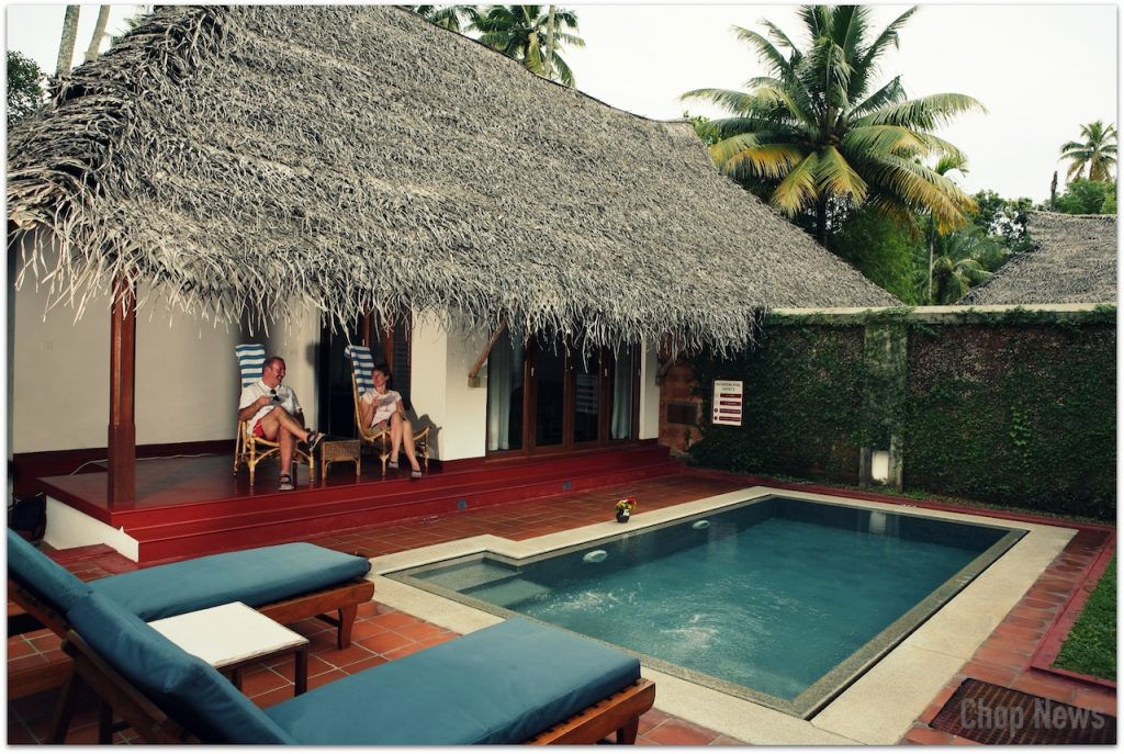 Traditional Kerala Cottage with Swimming Pool, Marari Beach