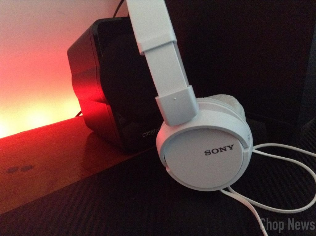 Sony MDR-ZX110A On-Ear Stereo Headphones