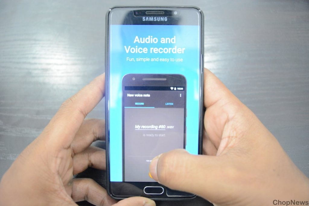 easy voice recorder android app