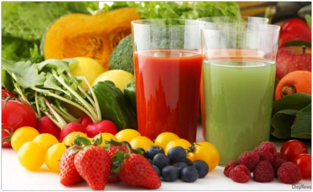 the vitamin content of fruit juice