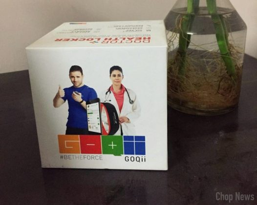 GOQii Life Fitness Band Box