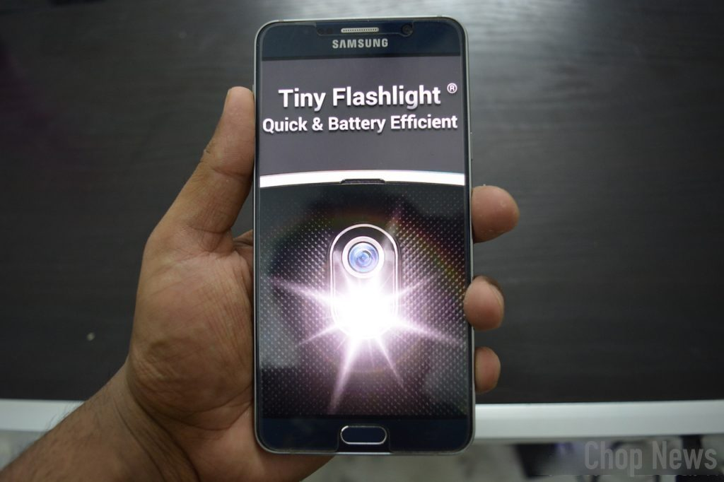 Tiny Flashlight + LED