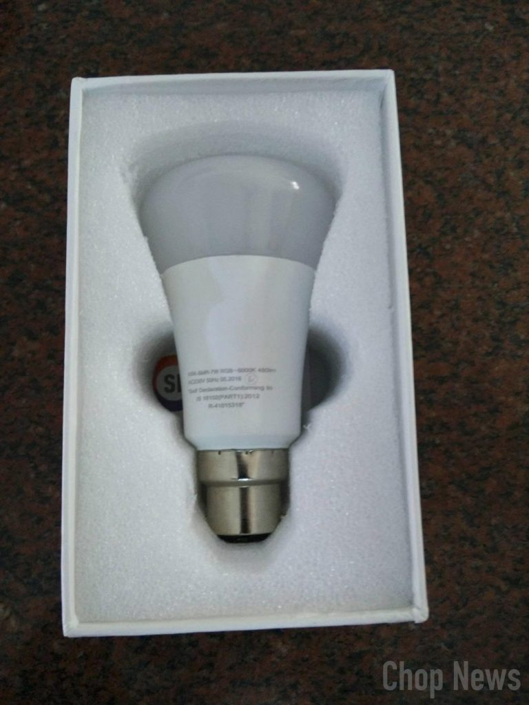 Syska Smartlight Rainbow LED Smart Bulb