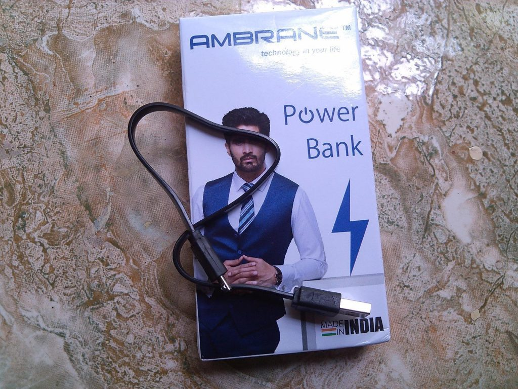 Ambrane P-1111 10000mAH Power Bank