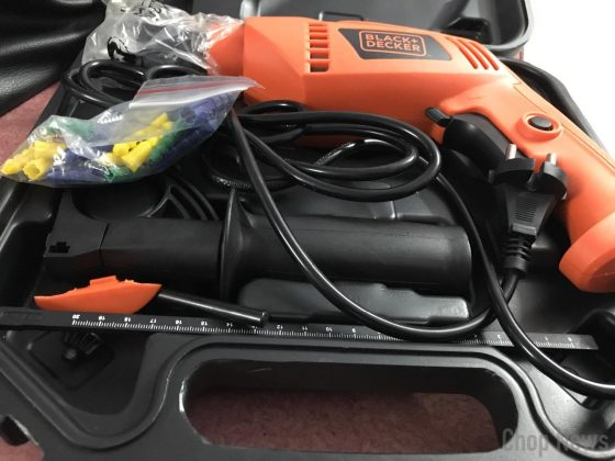 Black & Decker KR554RE Reversible Hammer Drill Machine