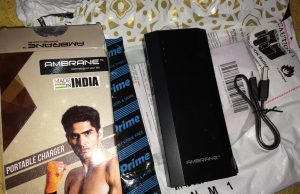 Ambrane P-1111 10000mAH Power Bank Review