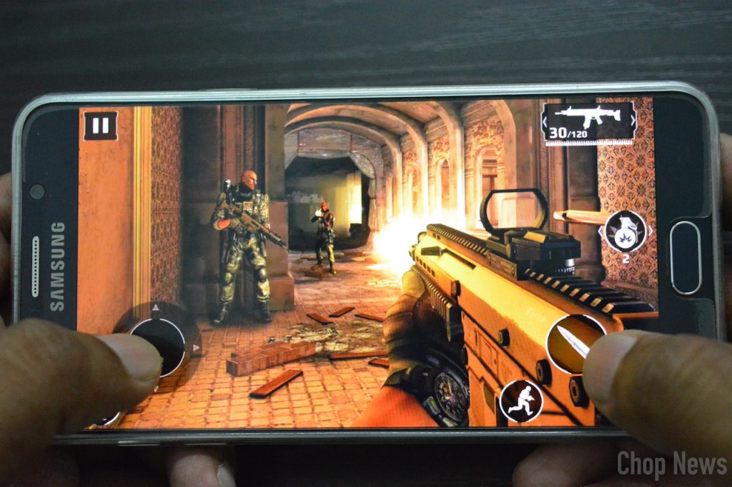 Modern Combat 5, best rpg android