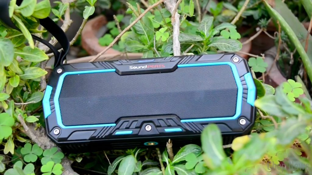 SoundPeats P3 Outdoor IP65 Water Resistant Portable Bluetooth Speaker