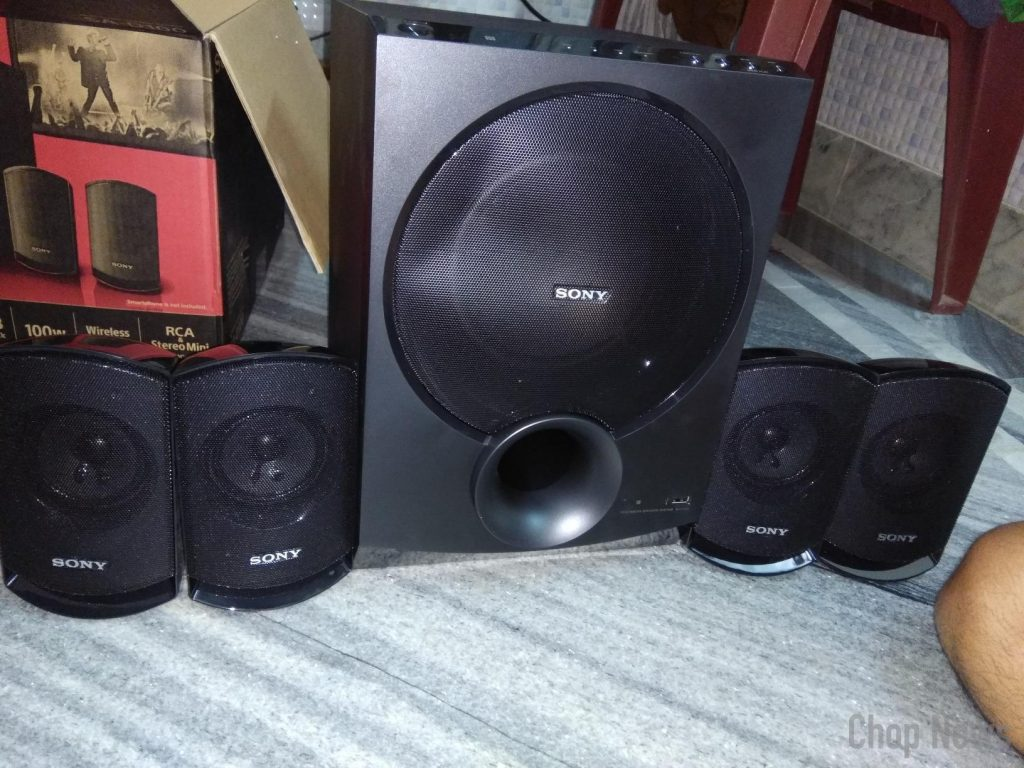Sony SA-D100 4.1 Multimedia Speakers with Bluetooth