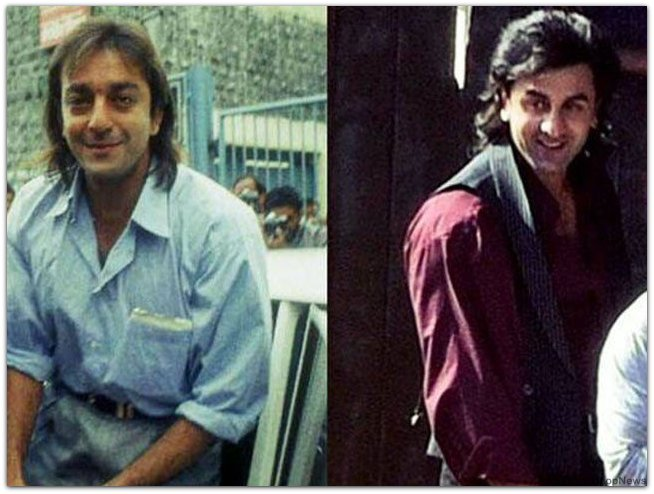 Ranbir Kapoor first Look of Sanjay Dutt Biopic
