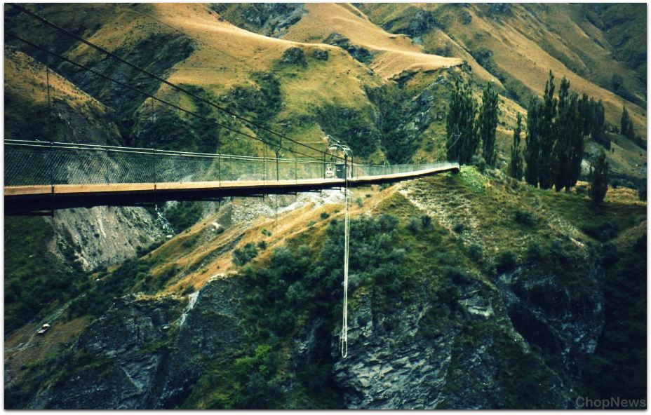 Places for Bungee Jumping in the World