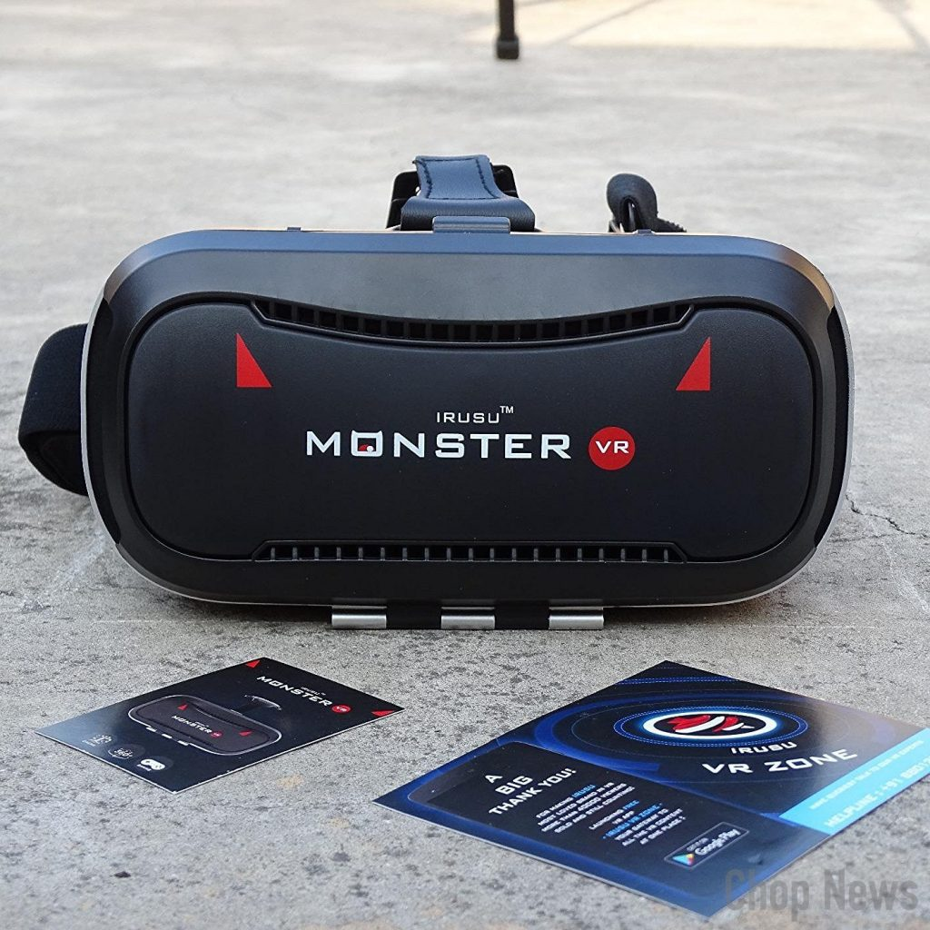 IRUSU MONSTER VR headset with Bluetooth Remote