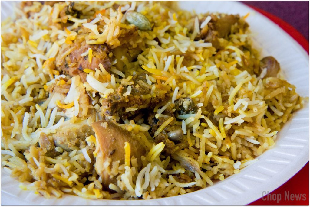 Biryani of the Seas