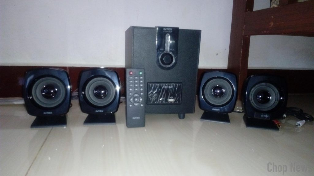 Intex IT-2616SUF-OS 4.1 Computer Multimedia Speakers Review