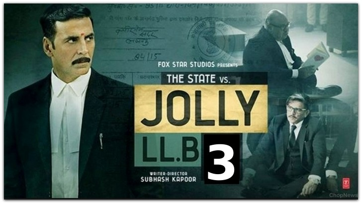 Jolly LLB 3 Announced