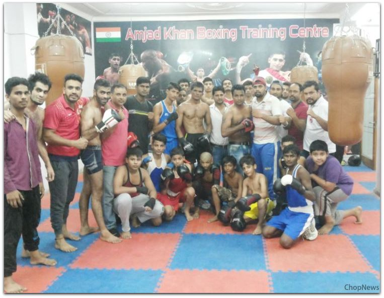 Boxing Clubs in Delhi