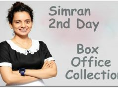 Simran Movie 2nd Day Box Office Collection