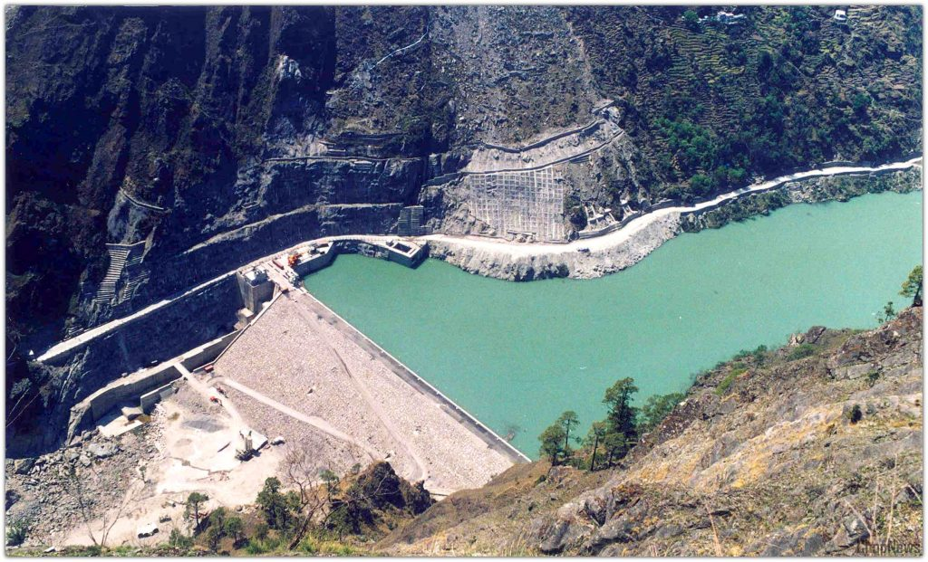 Top Five Dams in Uttarakhand