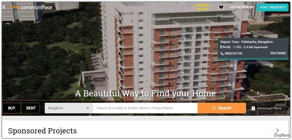 India's Best Property Search Portal and Real Estate