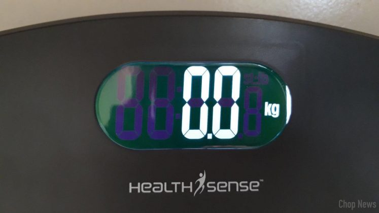 HealthSense PS 126 Ultra-Lite Personal Scale