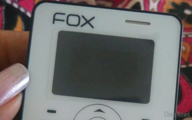 Fox Mobiles mini 1 - The Super Slim CleverPhone