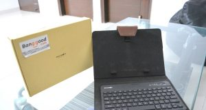 BlitzWolf® 3 Colors LED Backlight Bluetooth Keyboard PU Leather Case Review