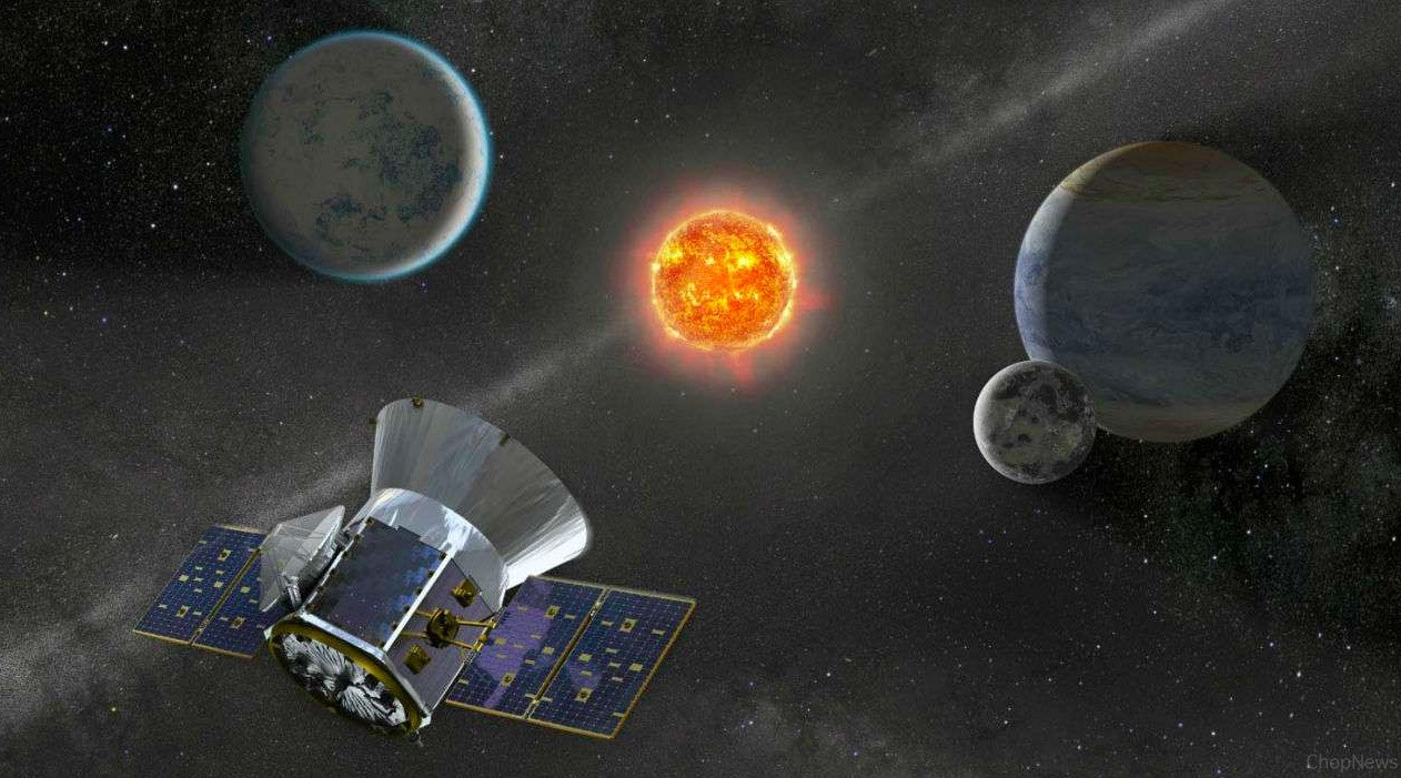 NASA's Planet-Hunting A Satellite