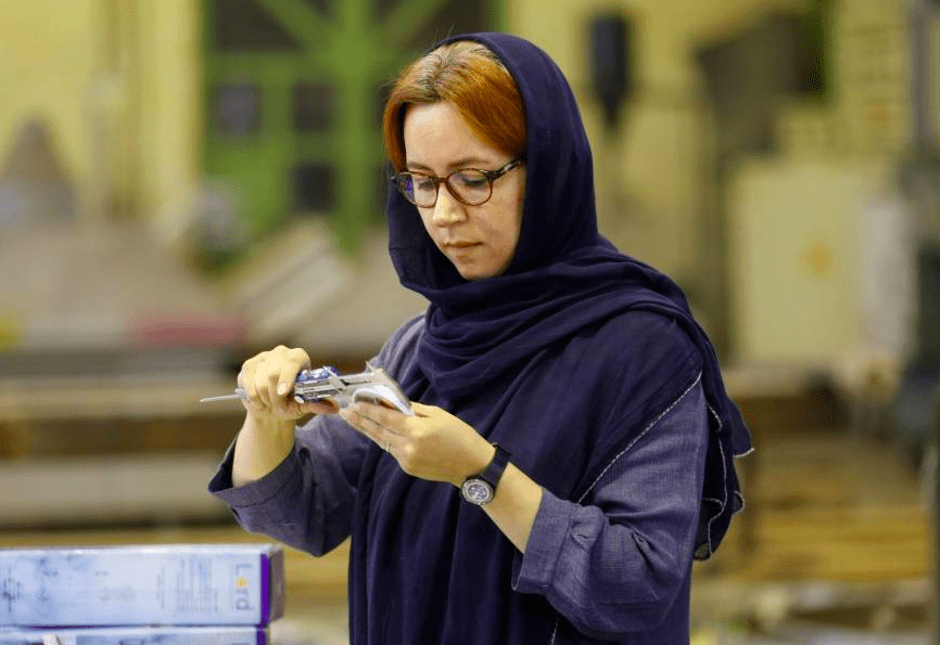 Iran's First Female Manufacturer