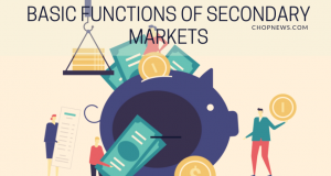 Basic Functions of Secondary Markets