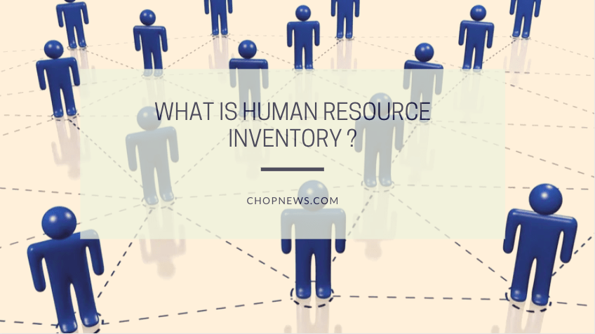 What is Human Resource Inventory ?