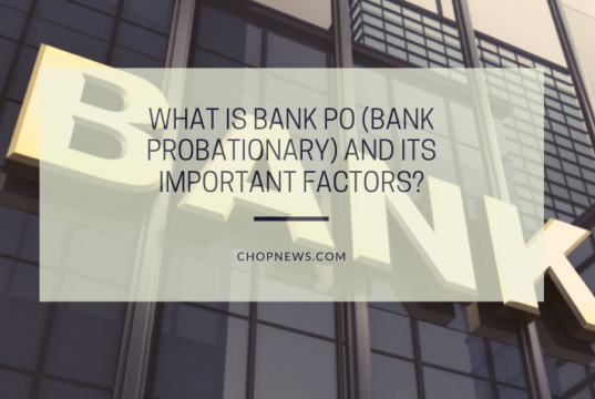 What is Bank PO