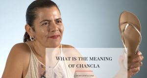 Chancla meaning