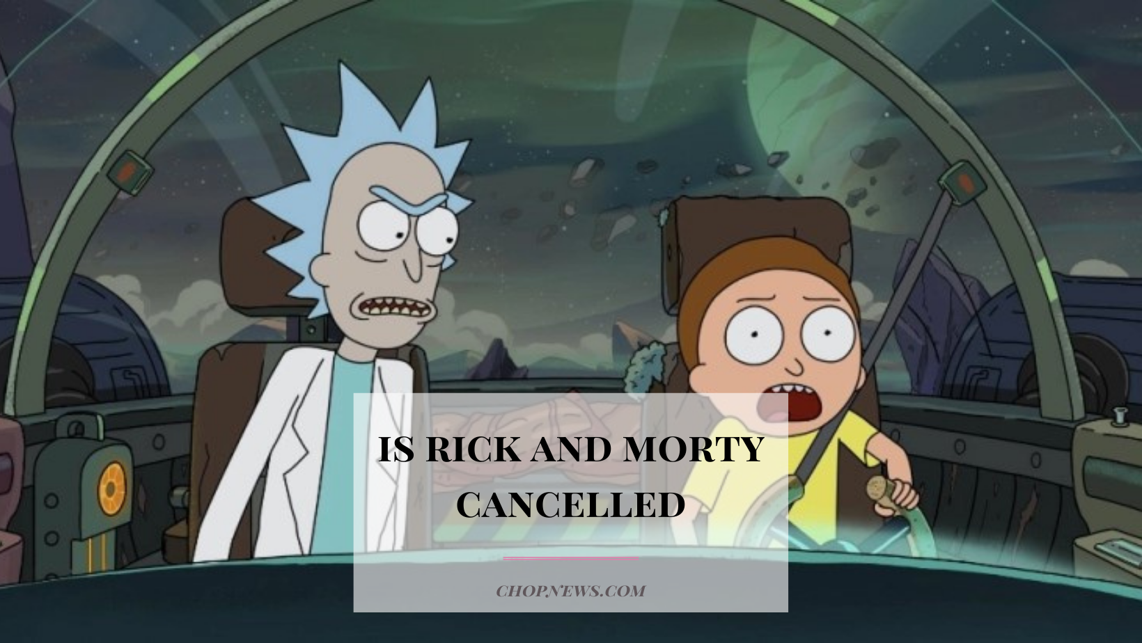 is rick and morty cancelled